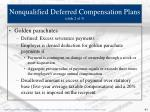 nonqualified deferred compensation plans slide 2 of 3