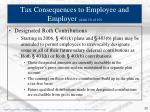 tax consequences to employee and employer slide 10 of 10