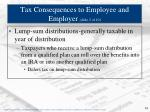 tax consequences to employee and employer slide 2 of 10