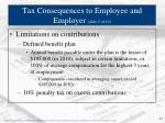 tax consequences to employee and employer slide 5 of 10