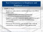 tax consequences to employee and employer slide 9 of 10