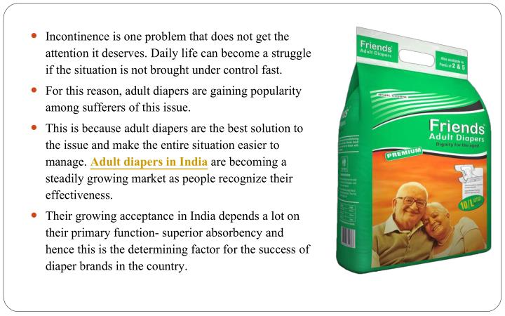 Incontinence is one problem that does not get the attention it deserves. Daily life can become a str...
