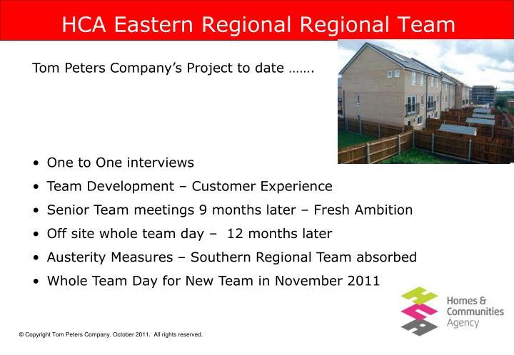HCA Eastern Regional Regional Team