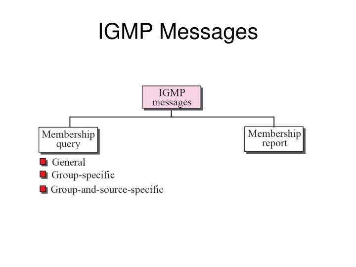 IGMP Messages