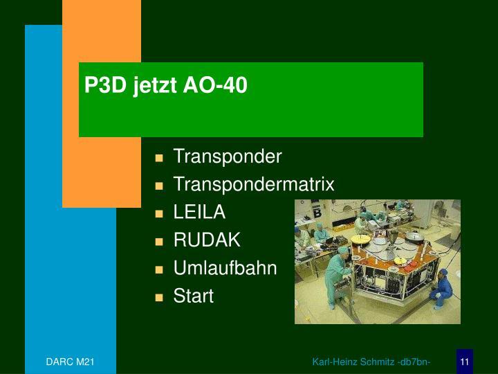 P3D jetzt AO-40