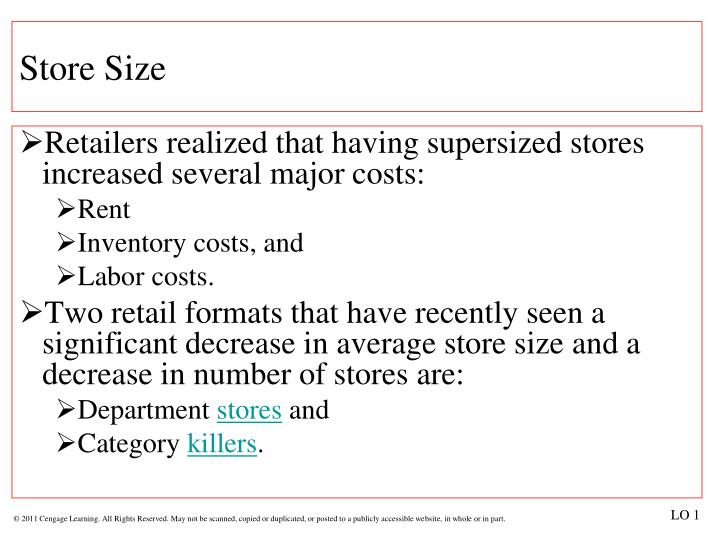Store Size