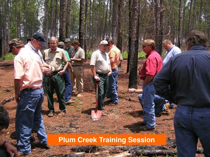 Plum Creek Training Session
