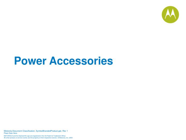 Power Accessories