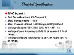 electrical specifications20