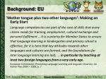 background eu