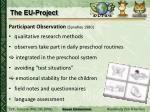 the eu project2