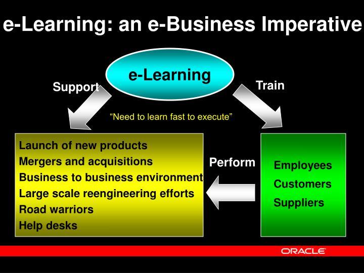 e-Learning: an e-Business Imperative