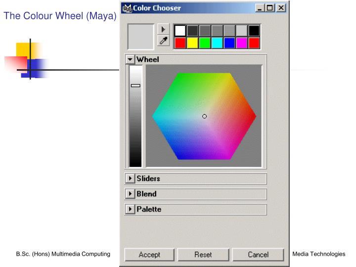The Colour Wheel (Maya)