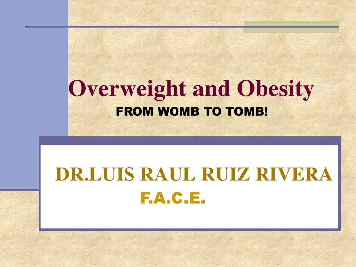 overweight and obesity n.