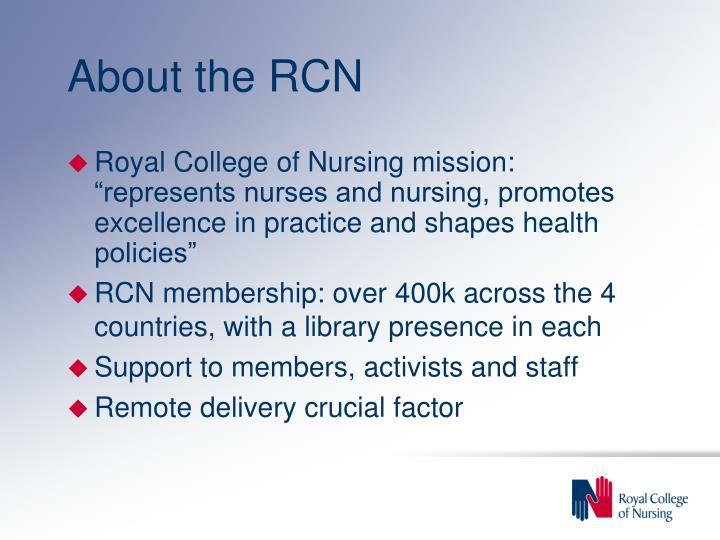 About the rcn