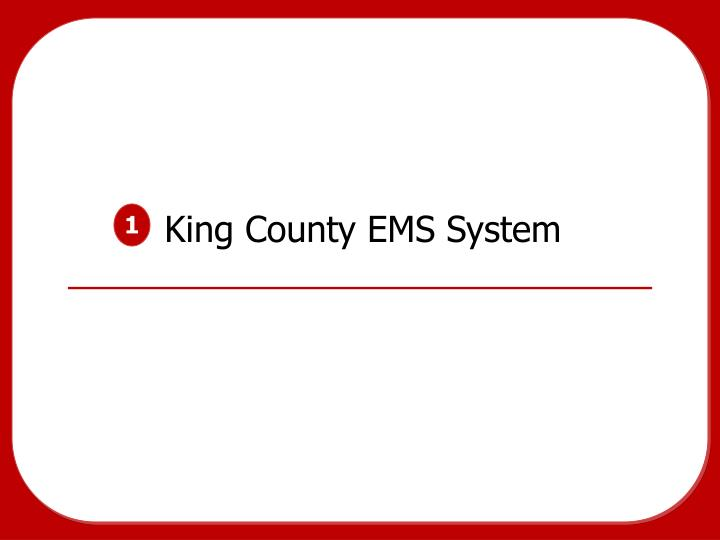 king county ems system n.
