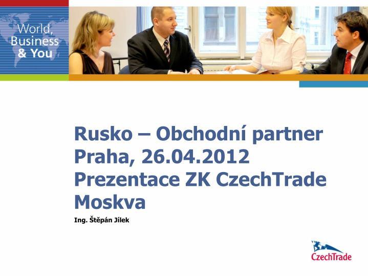 Obchodní partner
