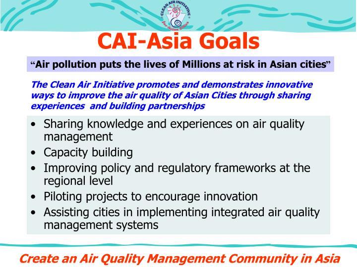 Cai asia goals
