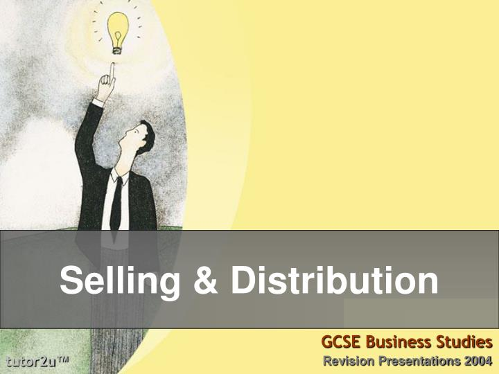 Selling distribution