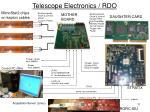 telescope electronics rdo