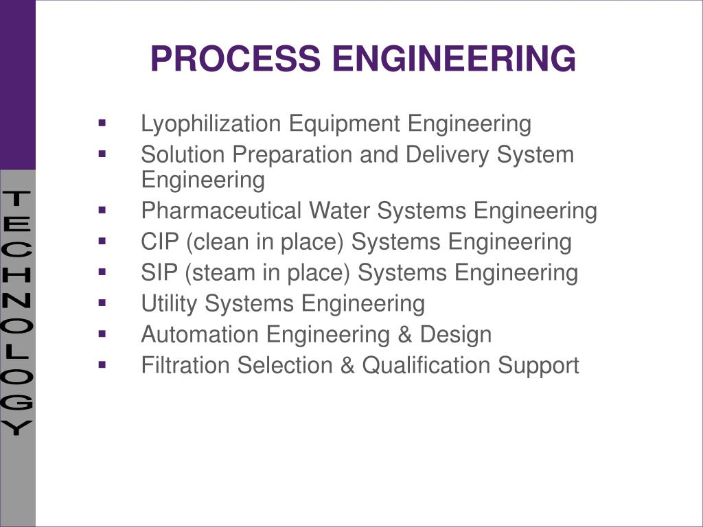 Ppt Plant Facilities Engineering In The Pharmaceutical
