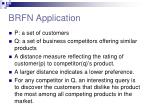 brfn application