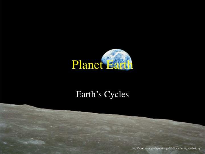 planet earth n.