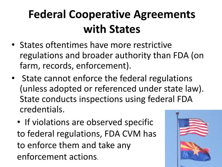 Federal Cooperative Agreements