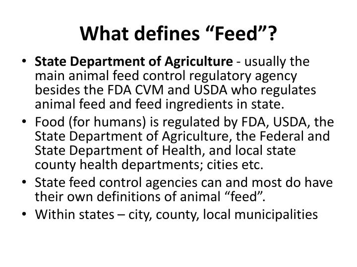 """What defines """"Feed""""?"""