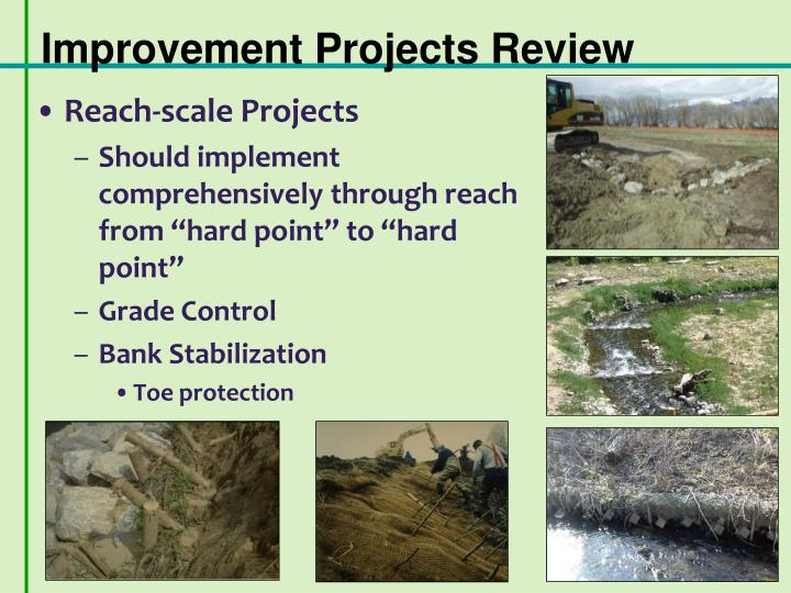 Improvement Projects Review