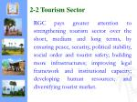 2 2 tourism sector