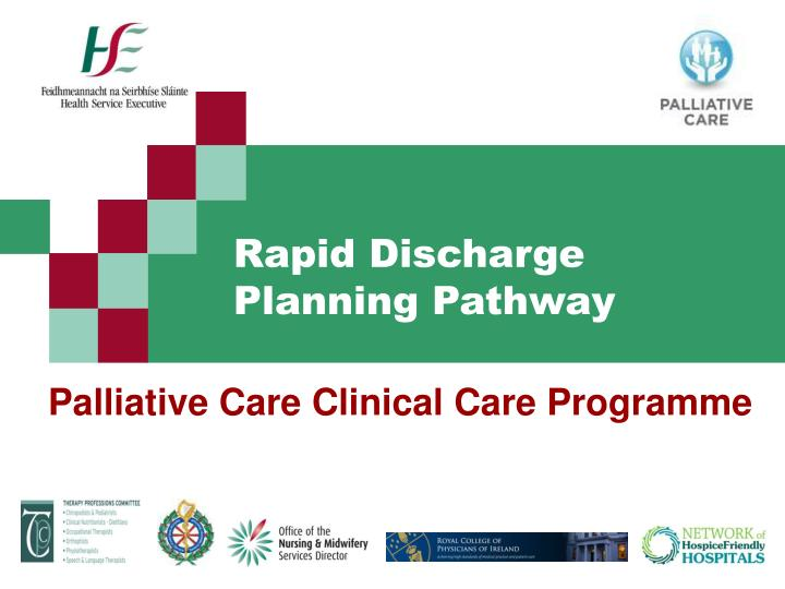 palliative care clinical care programme n.