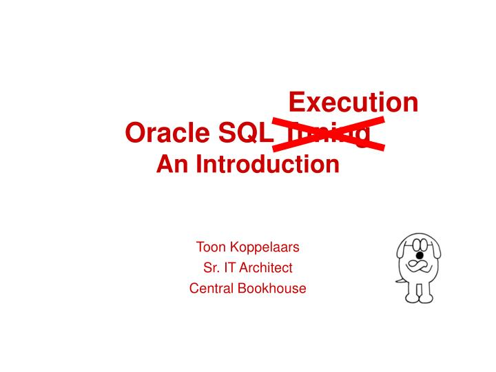 oracle sql tuning an introduction n.