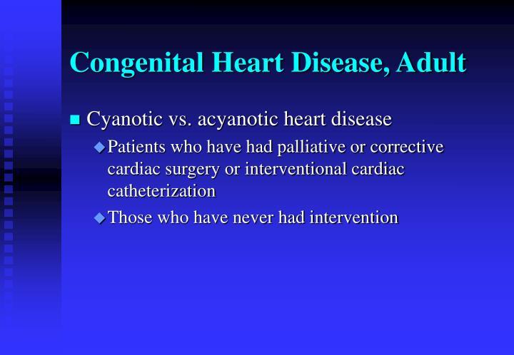 congenital heart disease in adults - 720×498