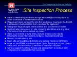 site inspection process3