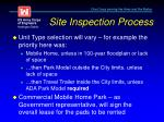 site inspection process4