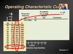 operating characteristic curve10