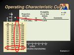 operating characteristic curve12