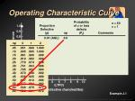 operating characteristic curve9