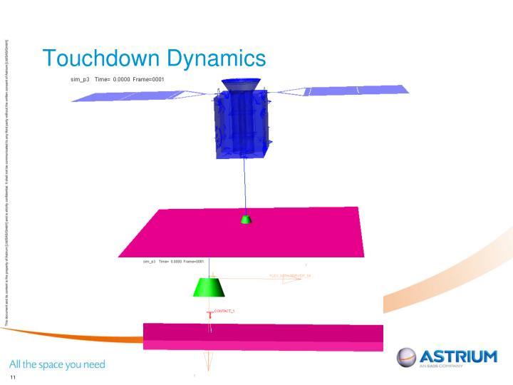 Touchdown Dynamics