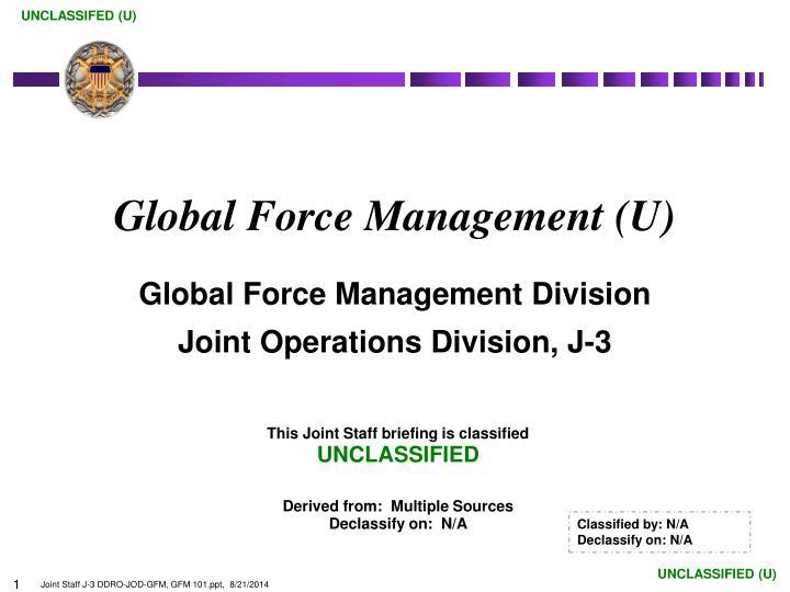 global force management u n.