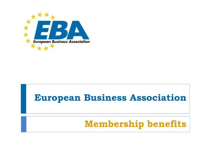 european business association n.