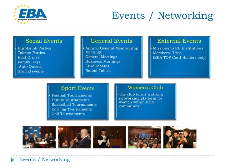 Events / Networking