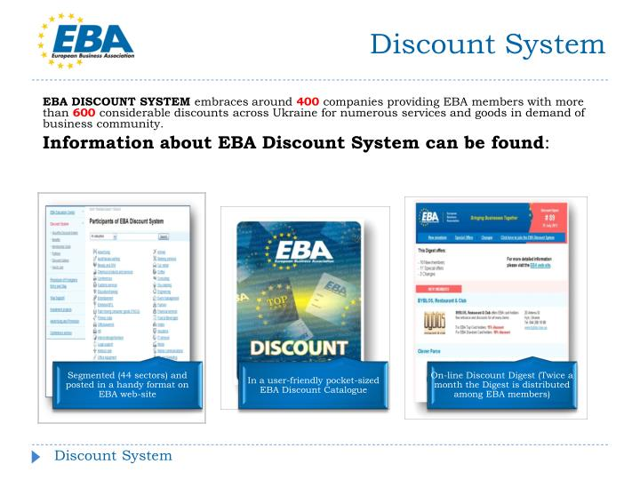 Discount System