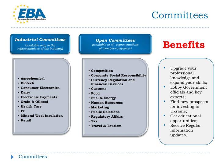 Industrial Committees