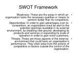 swot framework1