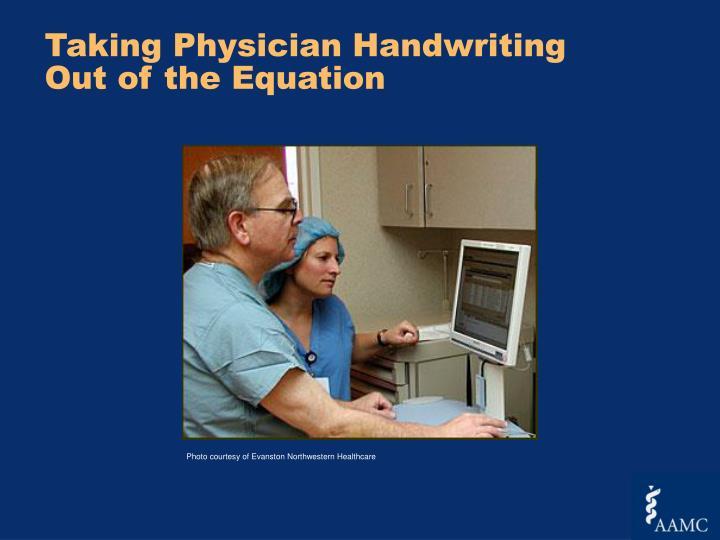 Taking Physician Handwriting