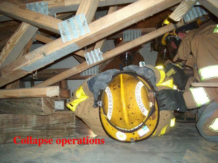 Collapse operations