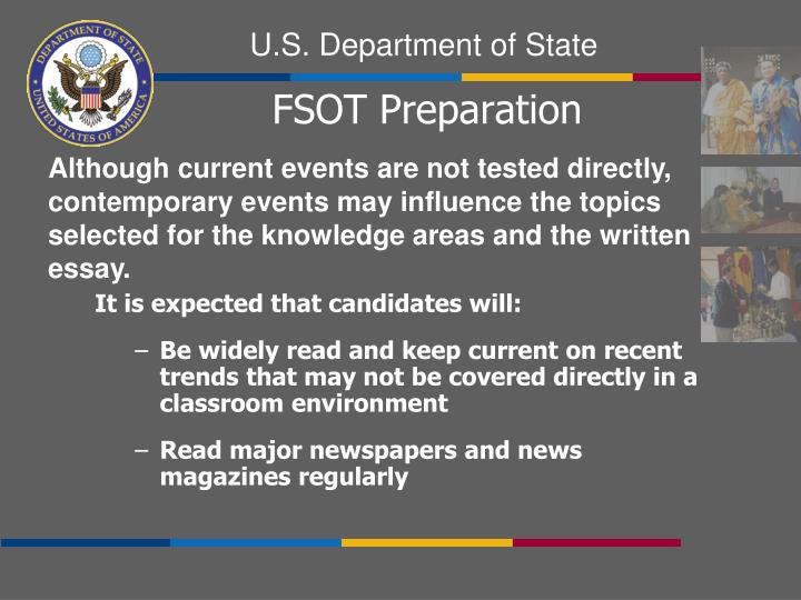 It is expected that candidates will: