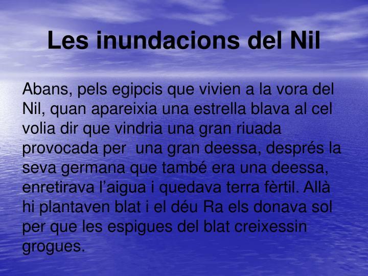 Les inundacions del Nil
